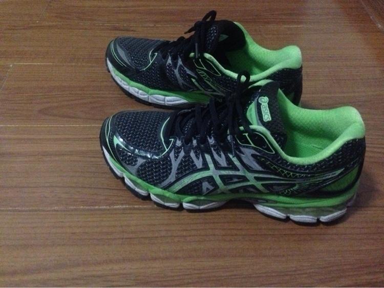 我的跑鞋 ASICS-NIMBUS 16