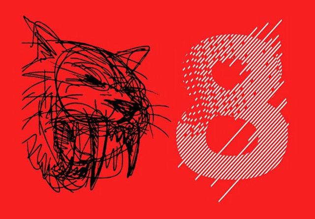 杜兰特手绘kd 8线索图案