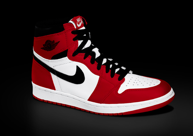 "Air Jordan 1 Retro High OG ""Chicago"" 2015 发售信息"