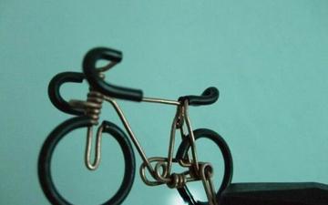 手把手教你用铁丝做自行车