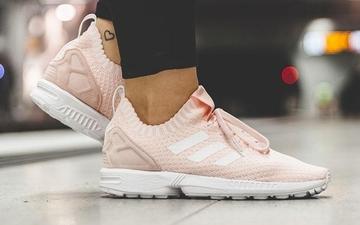 """少女心爆棚!adidas ZX Flux Primeknit """"Halo Pink""""甜美来袭"""