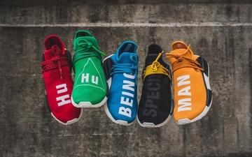 你选了哪个颜色? Pharrell x adidas NMD Hu今日发售