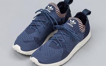 """材质配色双升级:adidas ZX Flux ADV Virtue Primeknit """"Blue"""""""