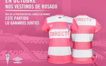 粉红十月,全球多家足球俱乐部共同抗击乳腺癌