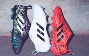 阿迪达斯故障艺术足球鞋发布