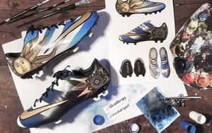 这才是艺术:阿尔瓦罗·佩雷拉的定制Nike Mercurial Veloce II