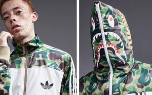 三宅一生发布adidas Originals x BAPE 2016圣诞联名款