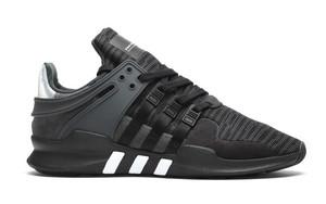你们喜欢的横条纹adidas EQT Support ADV 还有全黑配色!