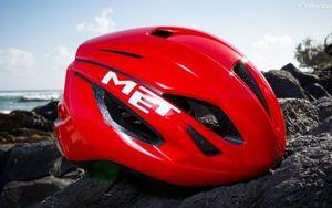 破风前行 MET新款气动头盔Strale