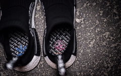 更多细节!日文加持的三方联名之作 NMD City Sock