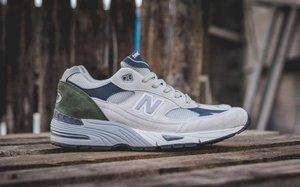 总统慢跑鞋,英产 New Balance 991 全新配色近赏