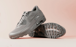 "Nike Air Max 90 Ultra 2.0 全新""Cool Grey""配色设计"