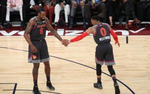 2017 NBA全明星赛赛场上脚合集