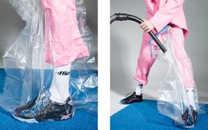 大胆撞色重塑经典跑鞋。Slam Jam x ASICS Tiger 全新联名 GEL-MAI 系列