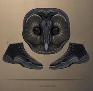 创意无限大,这样的球鞋壁纸喜欢么?