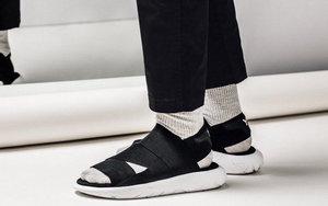"""这双凉鞋有点酷! adidas Y-3 Qasa Sandal全新""""CORE BLACK""""配色"""