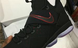 """Nike LeBron 14 """"Bred""""将在下月发售"""