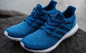 近赏 adidas x Parley for the Oceans 联名 UltraBOOST 3.0 鞋款