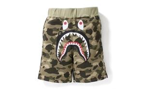 BAPE 2017 春夏 Camo Shark 运动短裤系列