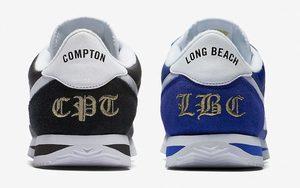 """即将发售,Nike Cortez 别注配色 """"Compton"""" & """"Long Beach"""""""