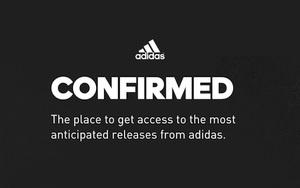 网页版 adidas Confirmed即将上线!