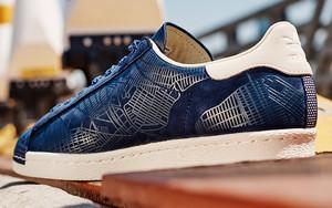 "纽约剪影,adidas Superstar 全新 ""NYC""设计"