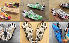 这么美的骑行鞋我卖肾也愿意:定制涂装神话