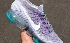 """葡萄紫遇上湖水绿,Nike VaporMax"""" Grape""""新配色抢先看"""