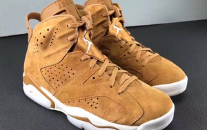"Air Jordan 6 ""Golden Harvest""更多实物图"