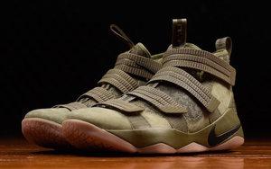 """即将发售,Nike LeBron Soldier 11 SFG """"Medium Olive"""""""