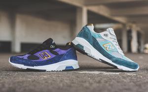 蓝紫色调,New Balance 991.5 全新双色