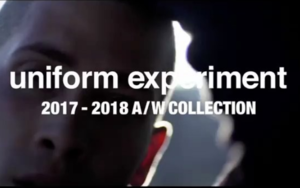 uniform experiment释出了17秋冬系列