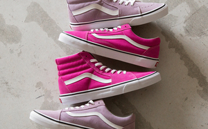 BEAUTY & YOUTH 携手 Vans 打造粉色系 Old Skool & Sk8-Hi