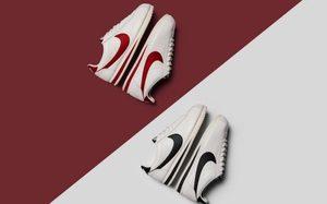 黑红皮革,Nike Cortez 带来全新材质升级