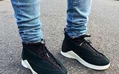 PSNY x Air Jordan 15 黑白款上脚是这样的