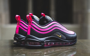 "黑粉很酷!Nike Air Max 97 Ultra ""Pink Prime""配色发售"
