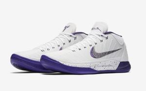 全新Nike Kobe AD Mid 白/紫 官图预览