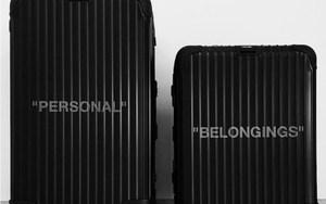 Virgil Abloh 又带来与行李箱品牌 Rimowa 联名企划