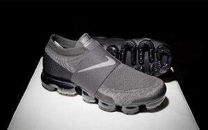 值得期待!Nike VaporMax Laceless 全新灰黑配色
