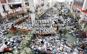 Vetements 即将于香港开始Pop-Up店铺