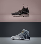"明日开抢!LeBron 15 ""Pride of Ohio""&Air Jordan 12""Dark Grey"""
