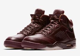 """绝佳质感!Air Jordan 5 Premium""""Bordeaux""""即将登场"""