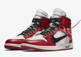 "Off White X Air Jordan 1""The Ten""官方发售终于来临!"