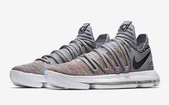 "即将上架!Nike KD 10""Multi-Color""官图释出"