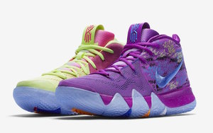 "骚气鸳鸯配色!Nike Kyrie 4 ""Multi-Color"" 谍照曝光!"