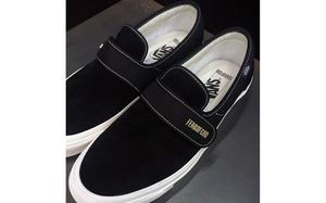 Fear of God x Vans 联名 Slip-On Style 147 黑色版本曝光