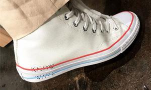KNOW WAVE x CONVERSE 联乘鞋款曝光