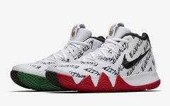 """颜值担当!Nike Kyrie 4 """"BHM""""本月发售!"""