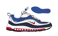 20周年庆,这两双活力视觉系的 Nike Air Max 98即将登场