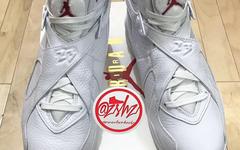 实物曝光!黑白双色OVO现已加入Air Jordan 8 系列!
